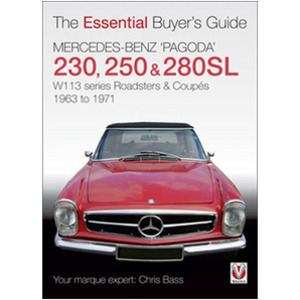 Mercedes Benz �Pagoda� 230SL, 250SL & 280SL roadsters & coup�s Inspired and contributed to by the late Roger Edwards
