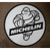 Michelin Man Coated Metal Sign