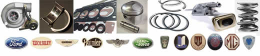 classic car parts, ford, wolseley, aston martin, daimler, land rover, morgan, rover, jaguar, mg